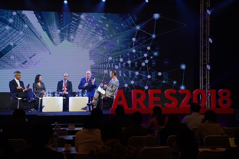 The highly anticipated smart cities panel at the ARES 2018