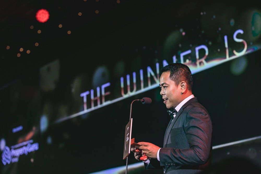 Key Real Estate's Sorn Seap at the 2018 PropertyGuru Cambodia Property Awards