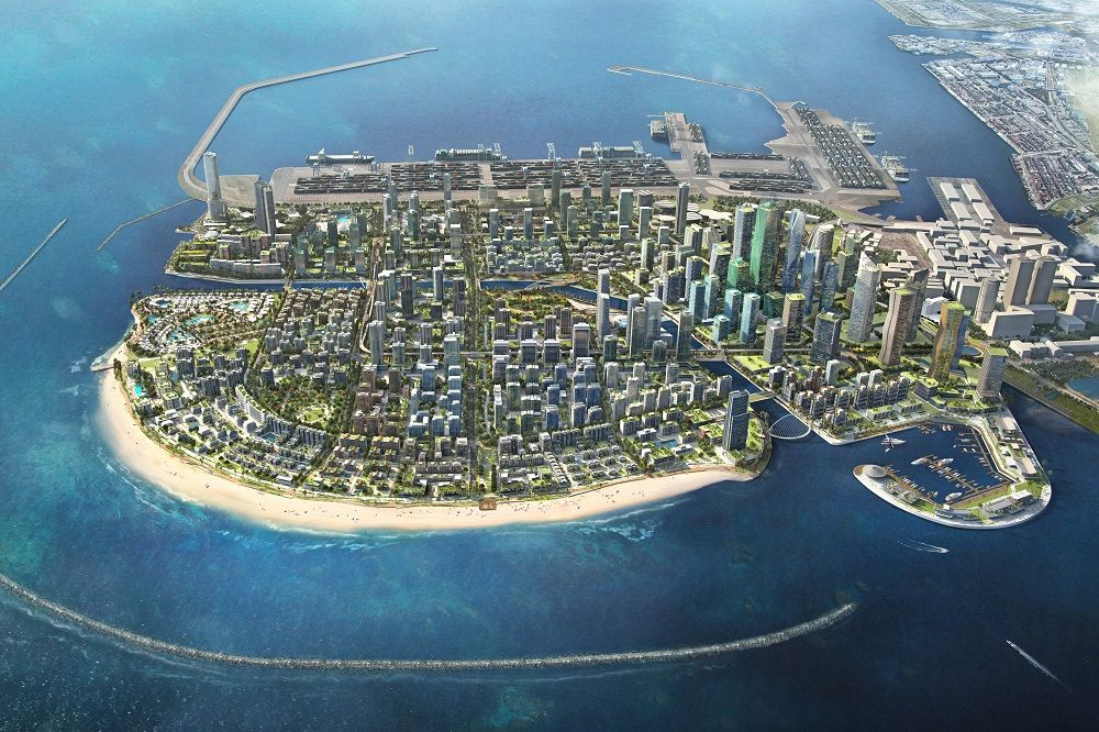 Rising out of the sea: Port City Colombo, a 269-hectare Belt and Road project in Sri Lanka