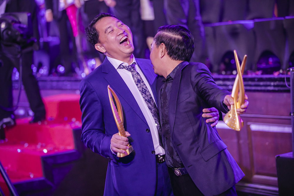 Memorable moment between Cambodia's top winners Creed Group and Borey Peng Huoth Group