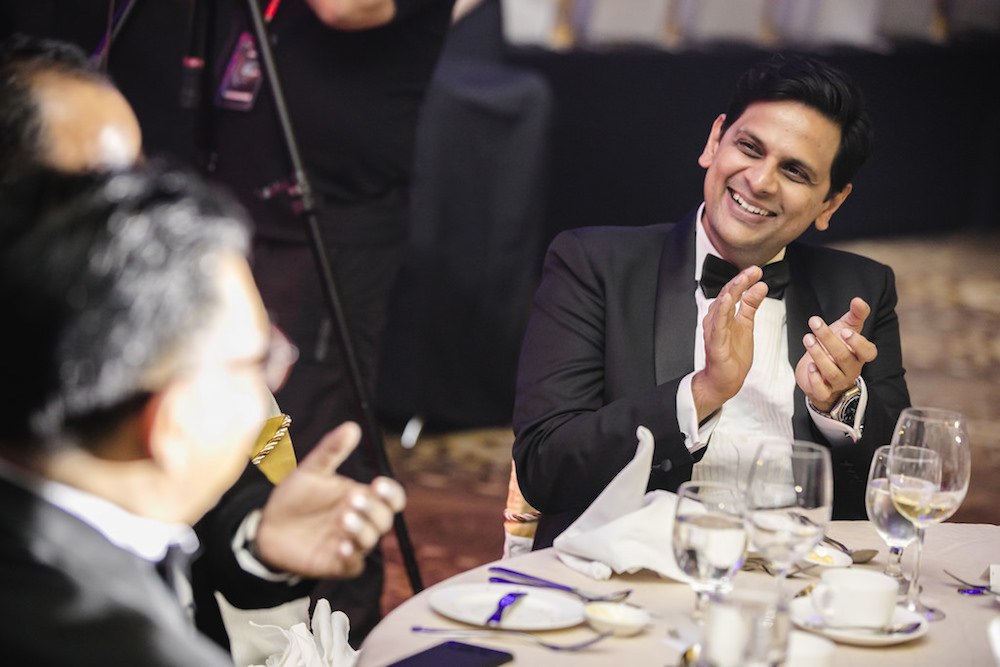 PropertyGuru Group CEO Hari V. Krishnan at the gala dinner in Kuala Lumpur on 26 April 2018