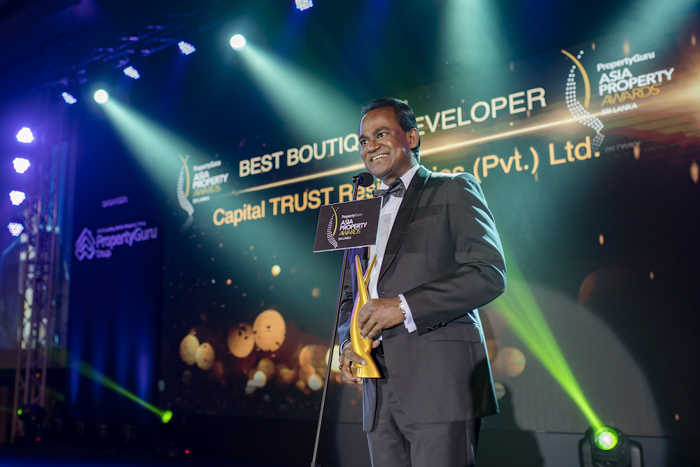 Capital TRUST Residencies (Pvt.) Ltd., which took home two awards, was named Best Boutique Developer