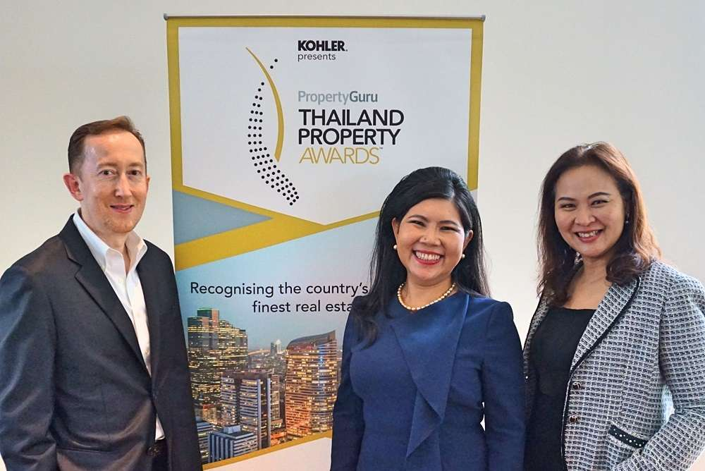 From left: Paul Ashburn, Co-Managing Partner, BDO Thailand; Suphin Mechuchep, Managing Director, Jones Lang LaSalle (Thailand) Limited; and Kamolpat Swaengkit, Thailand country manager, DDproperty.com