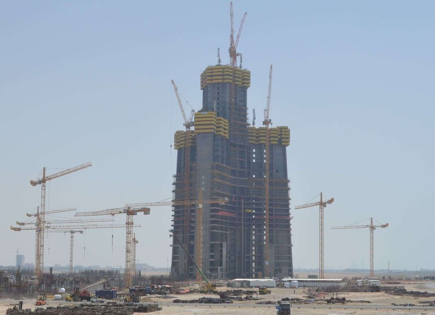 The Jeddah Tower is set to be the world's tallest structure by 2020. Eric893/Wikimedia Commons