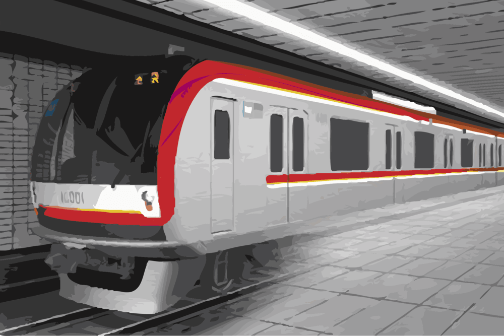 Artist's impression of the proposed subway project traversing Metro Manila, Philippines. Department of Transportation (Philippines)/Wikimedia Commons