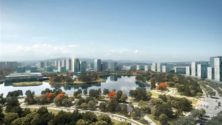 Rendering of New Clark City. Image credit: Surbana Jurong
