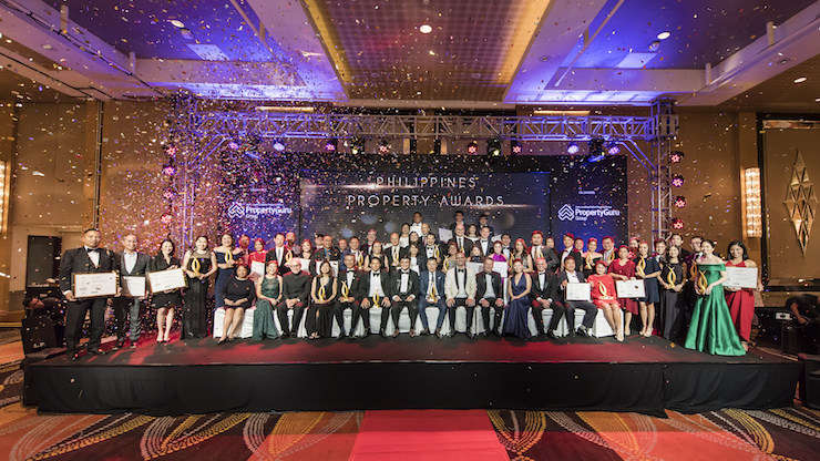 Winners and Highly Commended companies of the 2018 PropertyGuru Philippines Property Awards held in Metro Manila