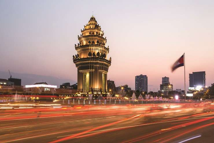Stable governance and relaxed regulations make Cambodia's capital Phnom Penh a favourite among Asia's emerging real estate markets