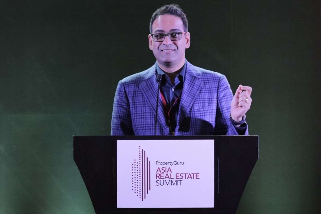 Shailesh Rao at the PropertyGuru Asia Real Estate Summit