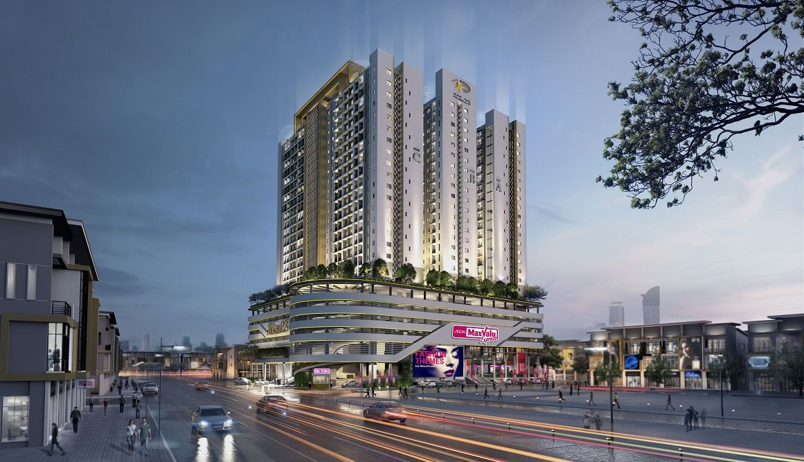 Topped by an exclusive rooftop garden, Star Polaris 23 by Borey Peng Huoth Group won Best Affordable Condo Development in Phnom Penh this year