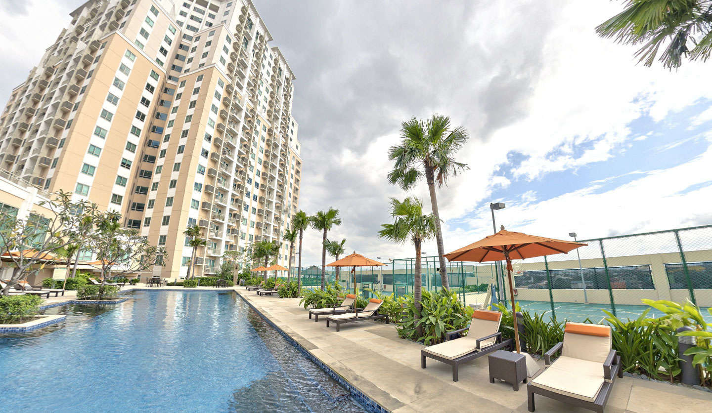 The Grove is a 5.4-hectare resort-type residential community in Pasig, Metro Manila