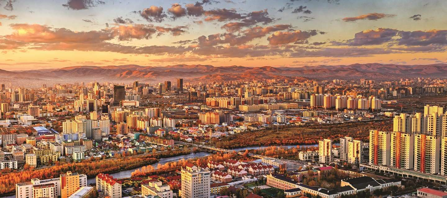 Although it is backed by inhospitable mountains and empty steppes, Ulaanbaatar has become a hub for real estate due to it's status as the capital of resource-rich Mongolia