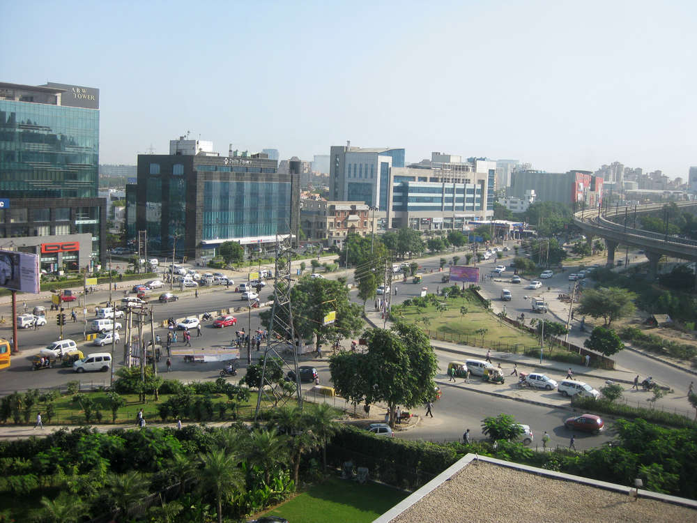 View of the financial center of Gurgaon. Fabio Imhoff/Shutterstock