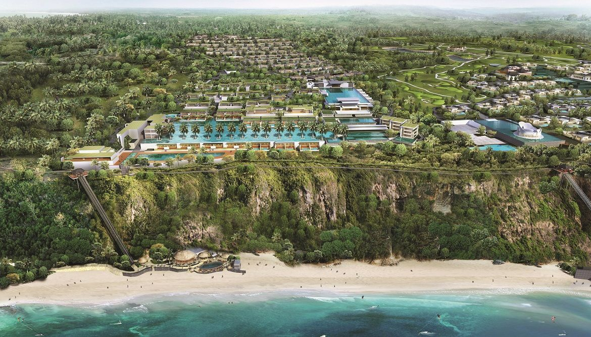 Occupying what Jean-Michel Gathy calls a 'dream-like' spot on a clifftop in southern Bali, the Mandarin Oriental, Bali and The Residences at Mandarin Oriental, Bali will comprise one of the island's most alluring leisure packages