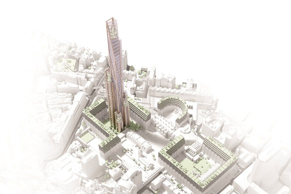 Another Bakker project, Oakwood Tower in London's Barbican area, will use timber as a structural material, a radical departure from orthodox design thinking