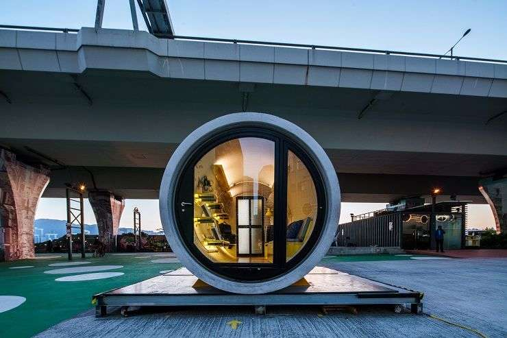 OPod Tube House. Image credit: James Law Cybertecture