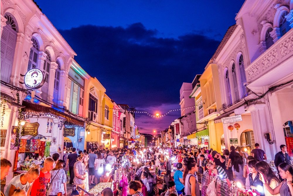 Phuket Walking Street.Breezy Stock/Shutterstock