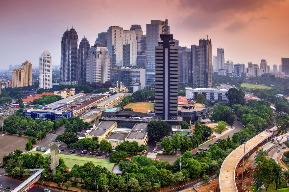 Jakarta, Indonesia. Andreas H/Shutterstock