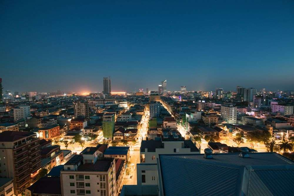 Phnom Penh in the early morning of 3 April. noomcpk/Shutterstock