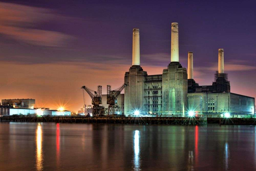 Battersea Power Station is part of the extensive Nine Elms regeneration project. Peter Wallace/Shutterstock