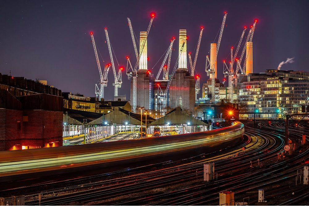 Battersea Power Station at night. Svetlana Turchenick/Shutterstock