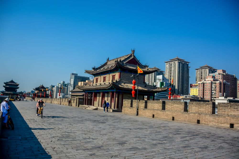 The City Wall of Xi'an, China. mark stephens photography/Shutterstock