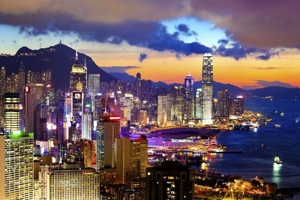 Hong Kong is one of the highest-density cities in the world. coloursinmylife/Shutterstock