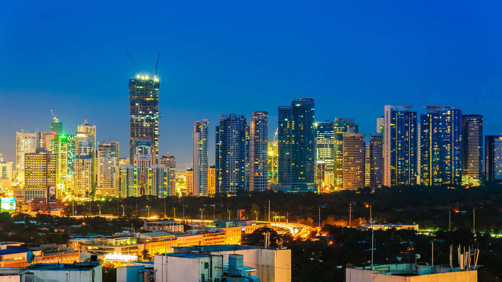 Skyline of Metro Manila, the national capital region (NCR) of the Philippines. Richie Chan/Shutterstock