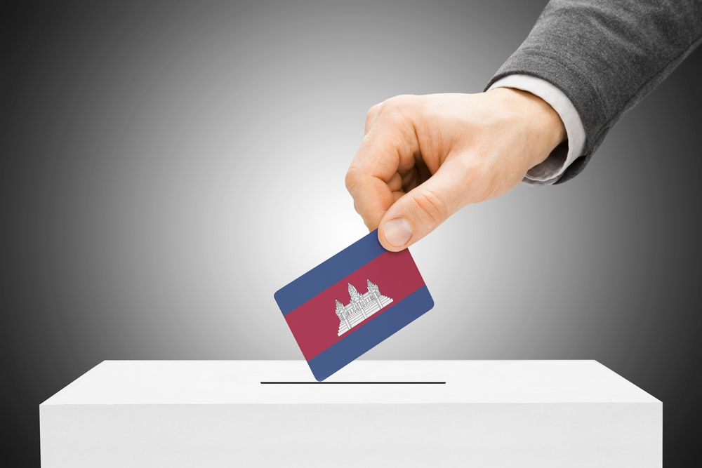 Cambodia's general elections take place 29 June. Niyazz/Shutterstock