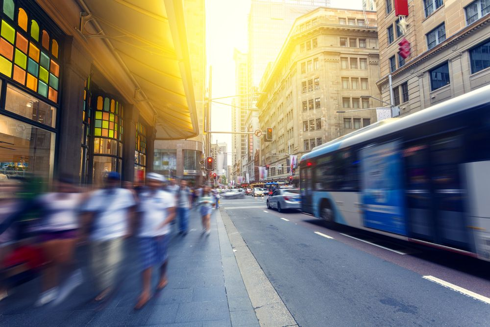 The streets of Sydney, Australia. chinasong/Shutterstock
