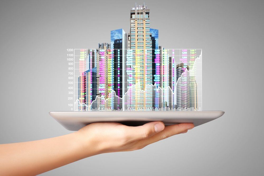 Total value of investable global commercial real estate will skyrocket by 2020, a wellspring of opportunity for proptech startups. Denphumi/Shutterstock