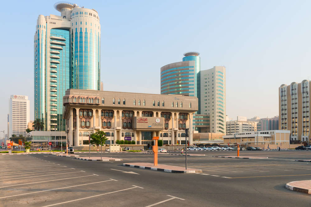 The Dubai Land Department building. Iryna Rasko/Shutterstock