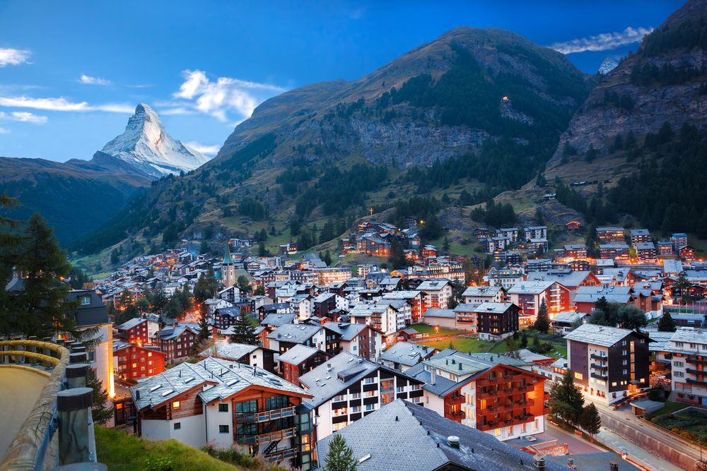 Although it hasn't been the easiest time for the ski industry, established resorts such as Zermatt in Switzerland continue to draw in investors. Samot/Shutterstock