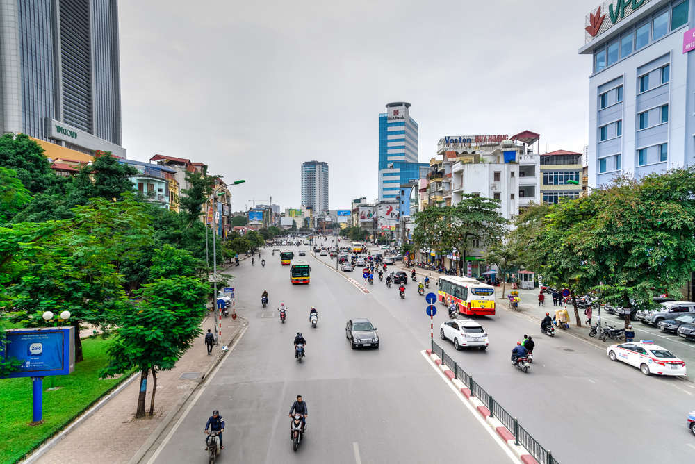 Tay Son Street, Dong Da District in Hanoi. Trong Nguyen/Shutterstock