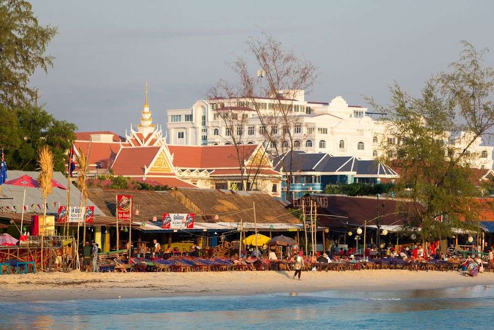 Sihanoukville's reputation is at risk of being tarnished, says an official. Michel Piccaya/Shutterstock