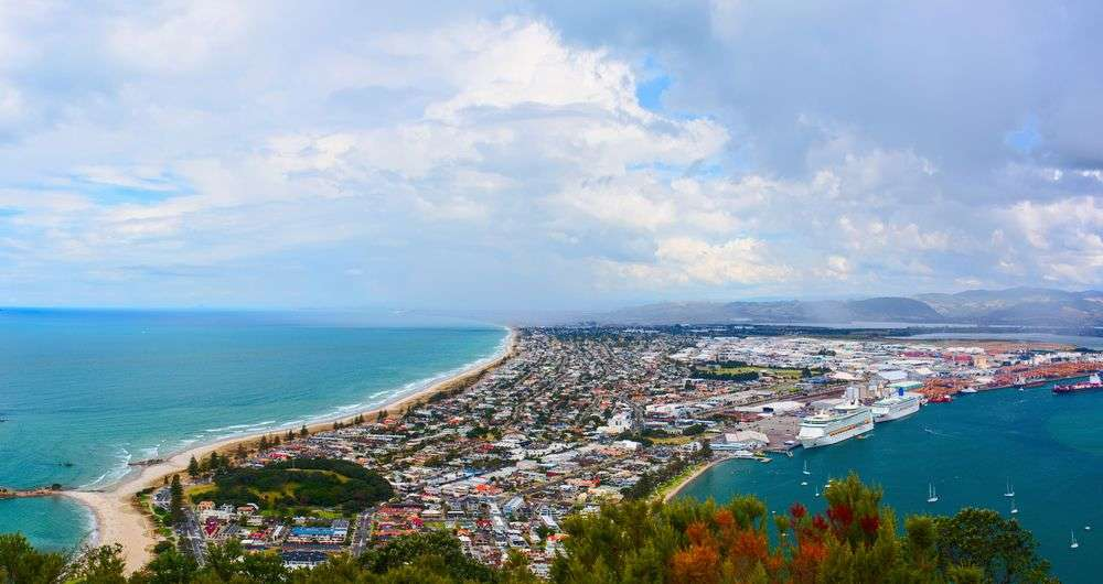 Tauranga, New Zealand was rated the world's 12th most expensive city. Yevgen Belich/Shutterstock