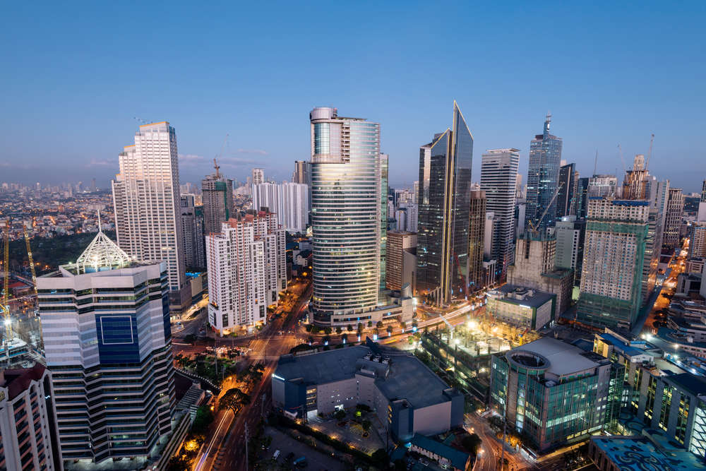 Makati, a city in the Philippines' National Capital Region. r.nagy/Shutterstock