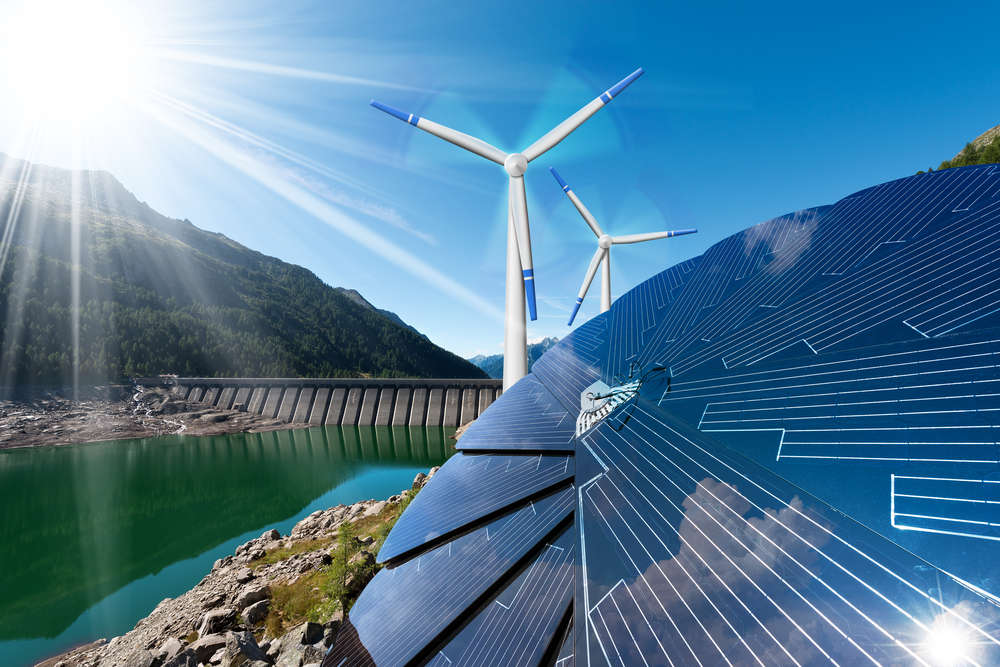 The number of cities powered most by renewable energy has doubled in the past few years. Alberto Masnovo/Shutterstock