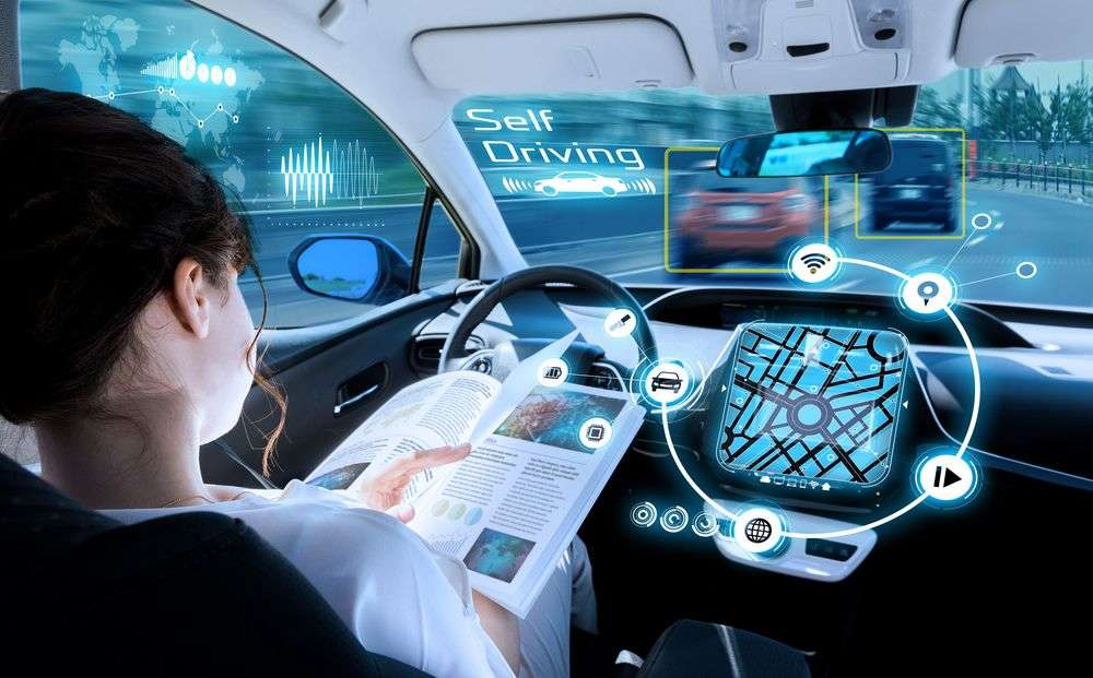 Increasing adoption of autonomous vehicles will dramatically inform urban planning in the future. chombosan/Shutterstock