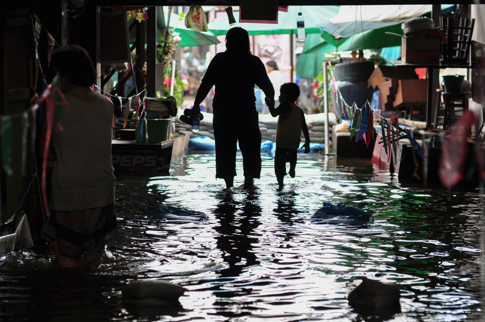Rising sea levels and torrential monsoon showers mean that low-lying cities such as Jakarta and Bangkok are sinking fast and could be submerged within the next 20 years