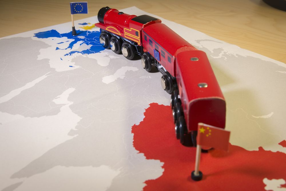 The New Silk Road is envisioned to connect EU, Africa, Central Asia and China. Ivan Marc/Shutterstock