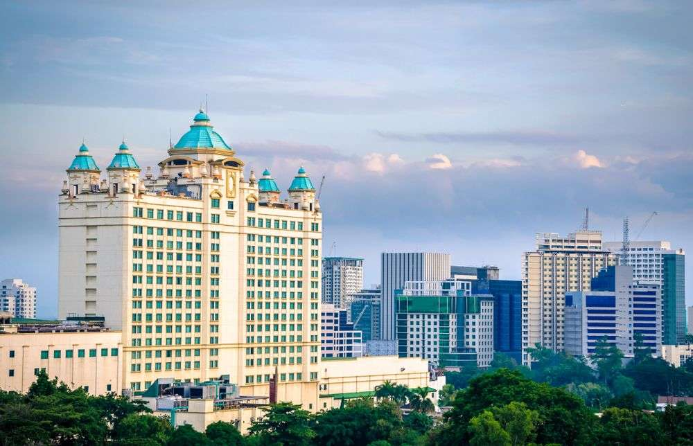 Hotels and other buildings crowd the skyline of Cebu, the Philippines' second-biggest metropolis. Mustafa Erden/Shutterstock
