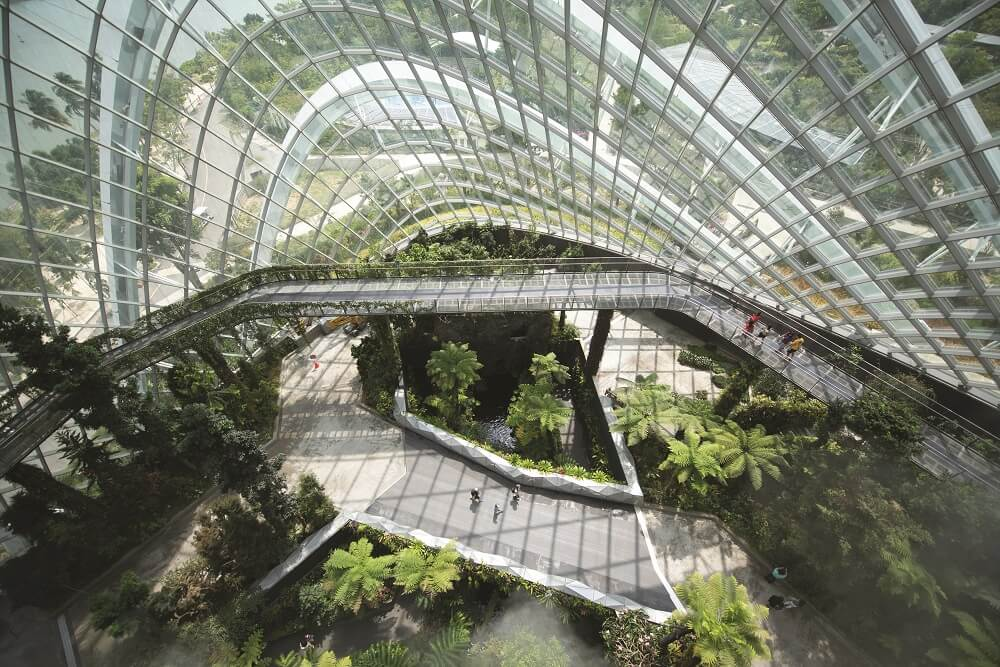 Singapore is regarded as one of the most forward-thinking nations in Asia when it comes to sustainable design and incorporation of green landscaping into major projects