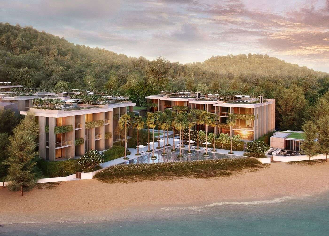 The Twinpalms Residences MontAzure will be one of the many components of the 454-rai masterplanned community on Phuket's west coast
