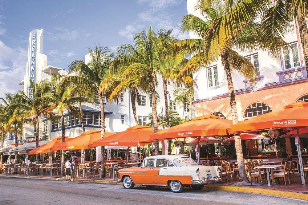 Another US city that is famous for its good weather and high living quality is Miami